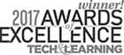 2017 Tech & Learning Awards of Excellence Winner