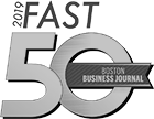 2019 FAST 50, Boston Business Journal.