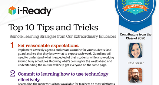 Preview of the Top 10 Tips and Tricks flyer.