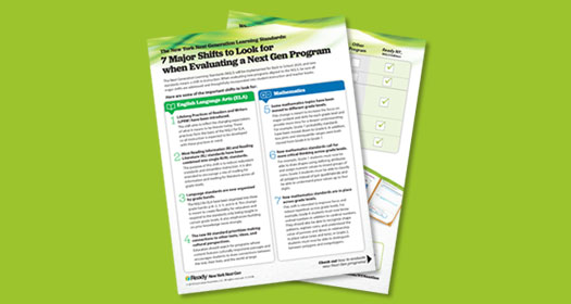 Guide to 7 Major Shifts to Look for when Evaluating a Next Gen Program.