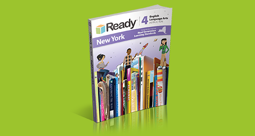 Ready NY, NGLS Edition for English Language Arts Student Instruction Book.