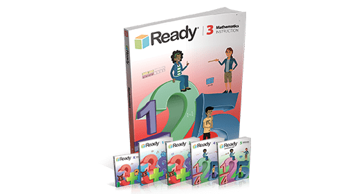 Ready Mathematics Student Instruction Books.