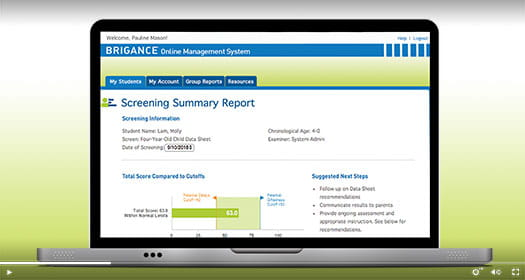 Screens III Online Management System demo video.