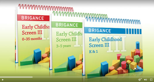 Early Childhood Screens III demo video.