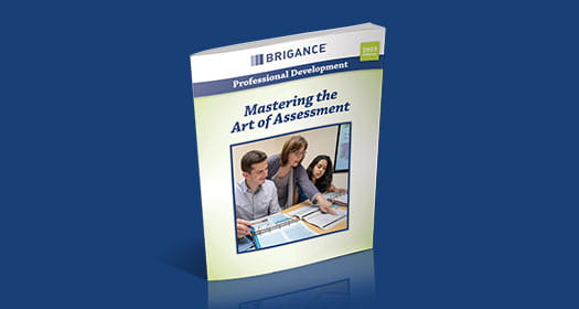 BRIGANCE Professional Development Brochure titled Mastering the Art of Assessment.