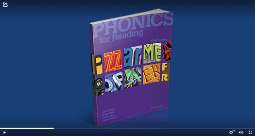 Phonics for Reading book.