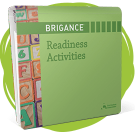 Cover of BRIGANCE Readiness Activities.