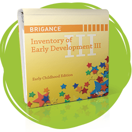 Cover of BRIGANCE Inventory of Early Development III.