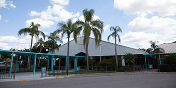 Top-performing Sarasota County School District school building.