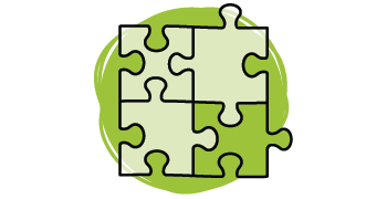 Graphic of a jigsaw puzzle.