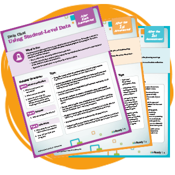 i-Ready data chat guides for teachers and leaders.