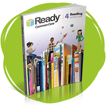 Ready Common Core Reading Grade 4 Student Instruction Book.