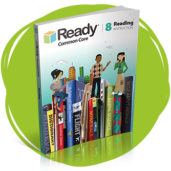 Ready Common Core Reading Grade 8 Student Instruction Book.