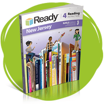 Ready New Jersey Reading Grade 4 Student Instruction Book.