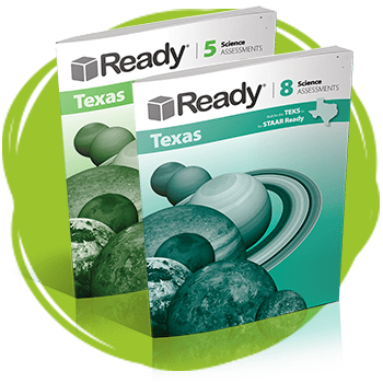 Ready Texas Science Assessments Books.