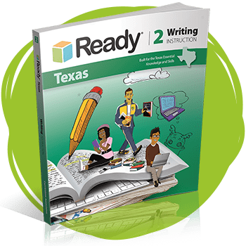 Ready Texas Writing Grade 2 Student Instruction Book.