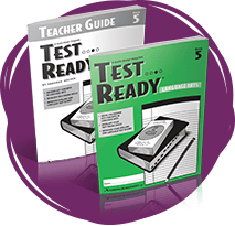 TEST READY Language Arts Student Book and Teacher Guide.