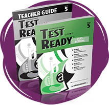 TEST READY PLUS Reading Student Book and Teacher Guide.