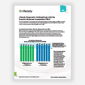 Cover of i-Ready research brief.