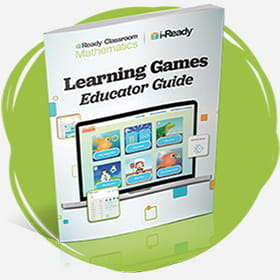 Photo of the Educator Guide for Learning Games.