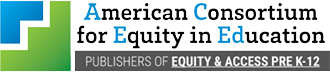 American Consortium for Equity in Education logo.