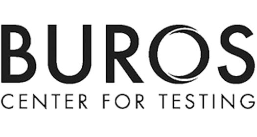 Buros Center for Testing logo.