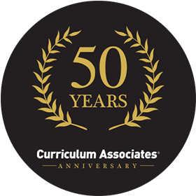 50 Years, Curriculum Associates Anniversary.