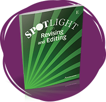 SPOTLIGHT on Revising and Editing book.