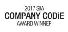 2017 Company Codie Award Winner