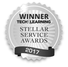2017 Tech Learning Steller Service Award Winner